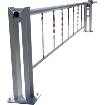 MPE barriere levante dechetterie