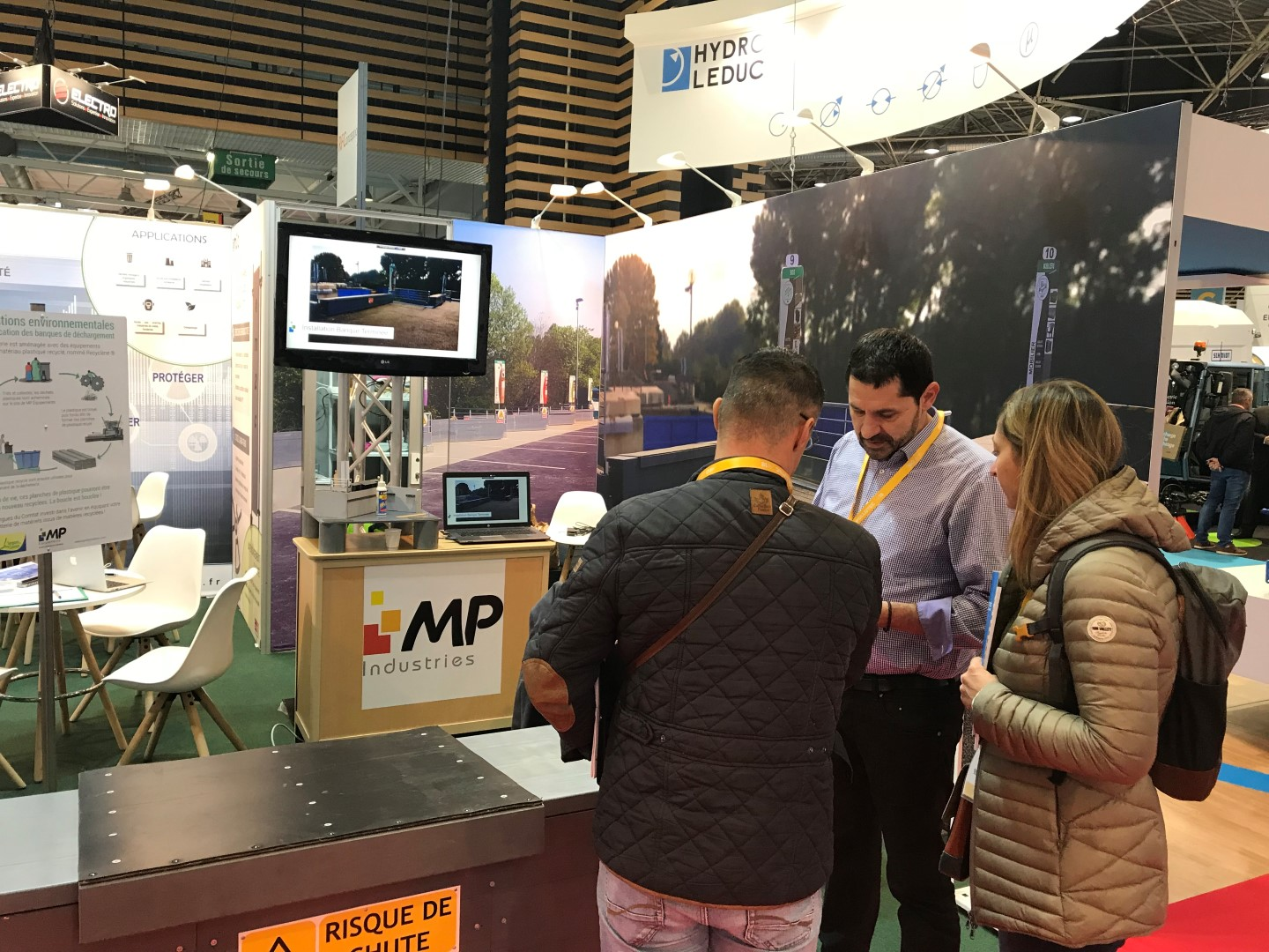 MP Déchèterie au salon international Pollutec à Lyon